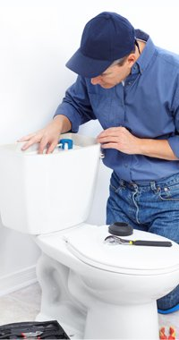 toilet leak repair